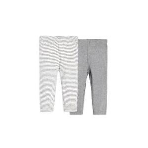 d8b1e69ce Burt's Bees Baby 2-Pack Organic Cotton Pants: Heather Grey - In 3-6m ...