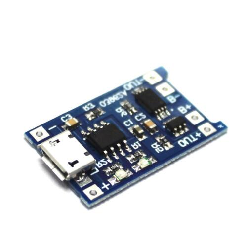 5pcs TP4056 mit Batterieschutz LIPO Ladegerät Modul Board Mini USB