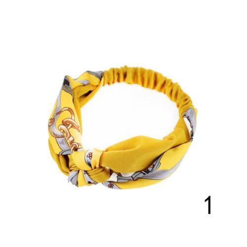 Frauen-populäres Yoga-elastisches Blumenhaarband-Stirnband Turban geknotetHot/&