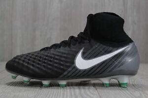 da4d98b93 37 Nike Magista Obra II FG AG PRO ACC Soccer Cleats Black 844595 002 ...