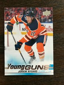 2019-20-Upper-Deck-Series-1-Young-Guns-Joakim-Nygard-OIlers-213
