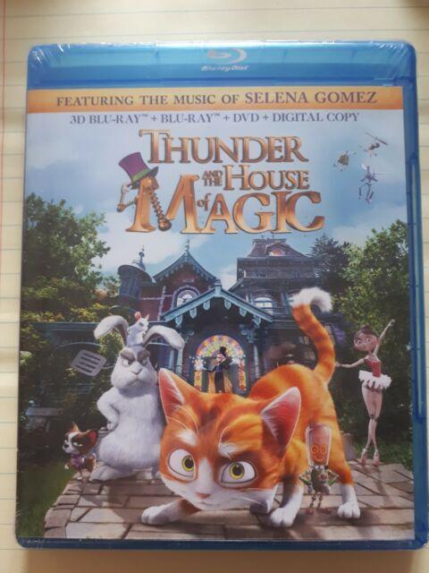The House of Magic (Blu-ray Disc, 2015, 2-Disc Set)