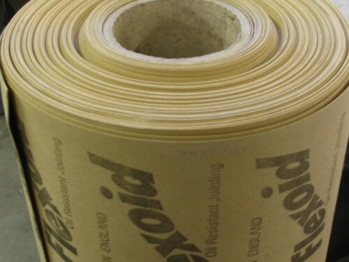 GENUINE FLEXOID PAPER 0.15MMTHK 2.5MTR ROLL X 500MMWIDE SUITABLE FOR OIL & WATER