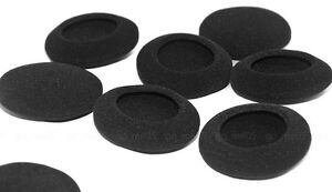 10 pcs 65mm foam pads ear pad sponge earpads headphone cover for headset 2.56""