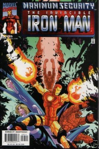 IRON MAN #35 VOL 3 VF//NM