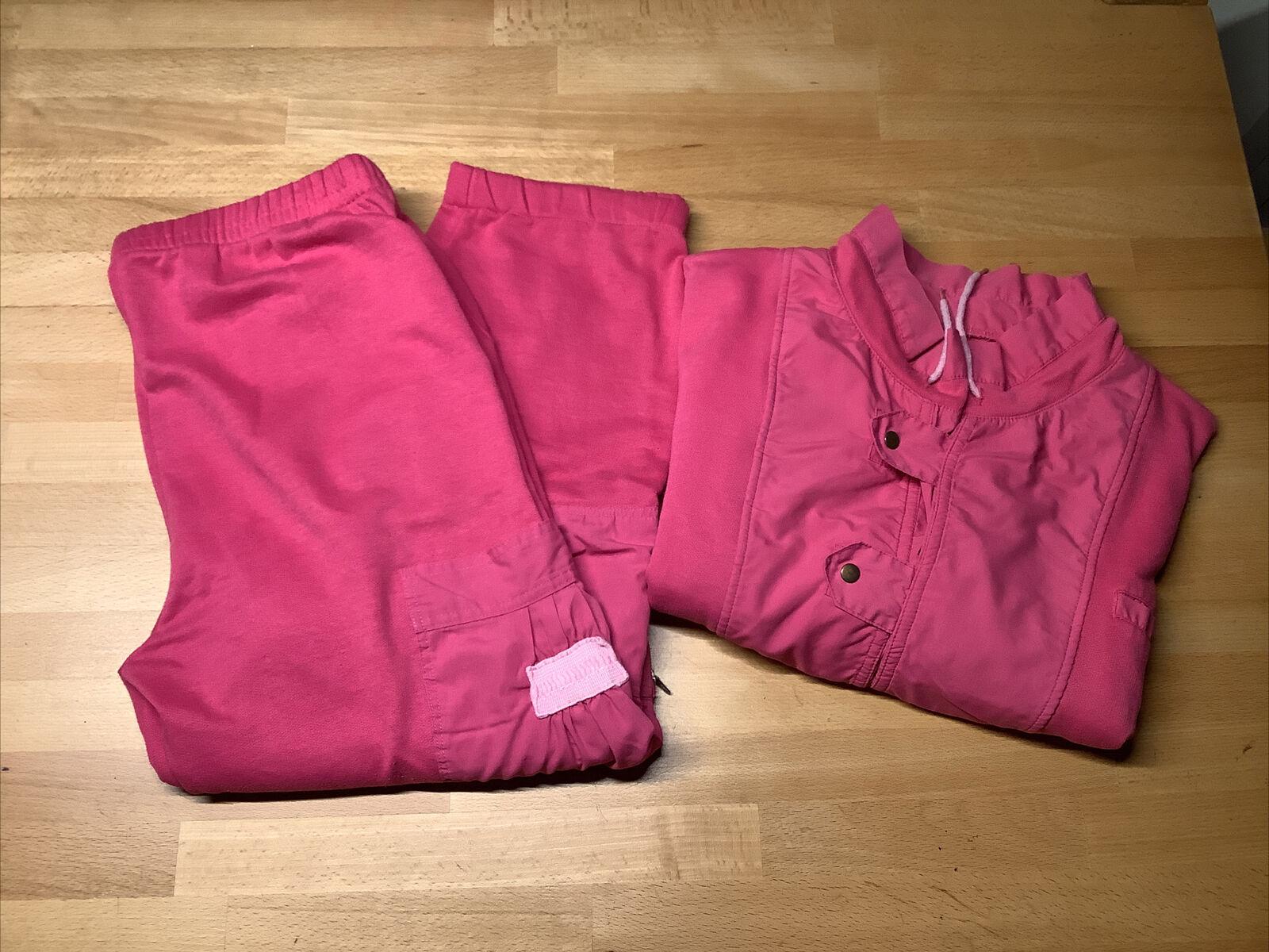 RODEO, Vintage Jogginganzug, Pink, Polyester/ Baumwolle, Gr.40
