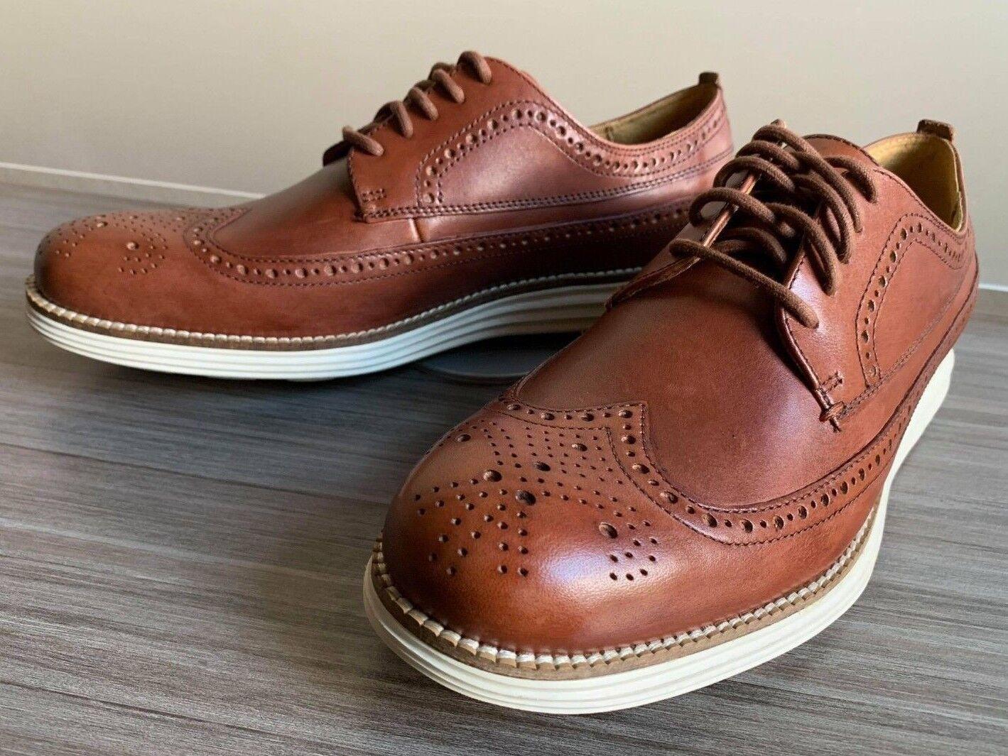 Cole Pelle Haan OriginalGrand Long Wingtip Pelle Cole Shoes size 7 Original Grand 01d99c