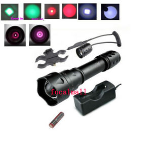 UniqueFire T20 IR 940nm Infrared Zoomable 38mm LED Night Vision Flashlight Torch