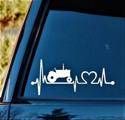K1017 Dog Heartbeat© Lifeline Monitor Decal Sticker for Car Truck SUV Van LAPTOP