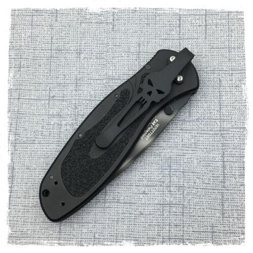 Black Titanium Deep Carry Pocket Clip For Kershaw Blur Kershaw Leek Shallot