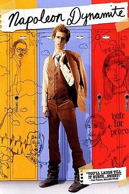 Napoleon Dynamite 8x10 11x17 16x20 24x36 27x40 Movie Poster Vintage Jon Heder A