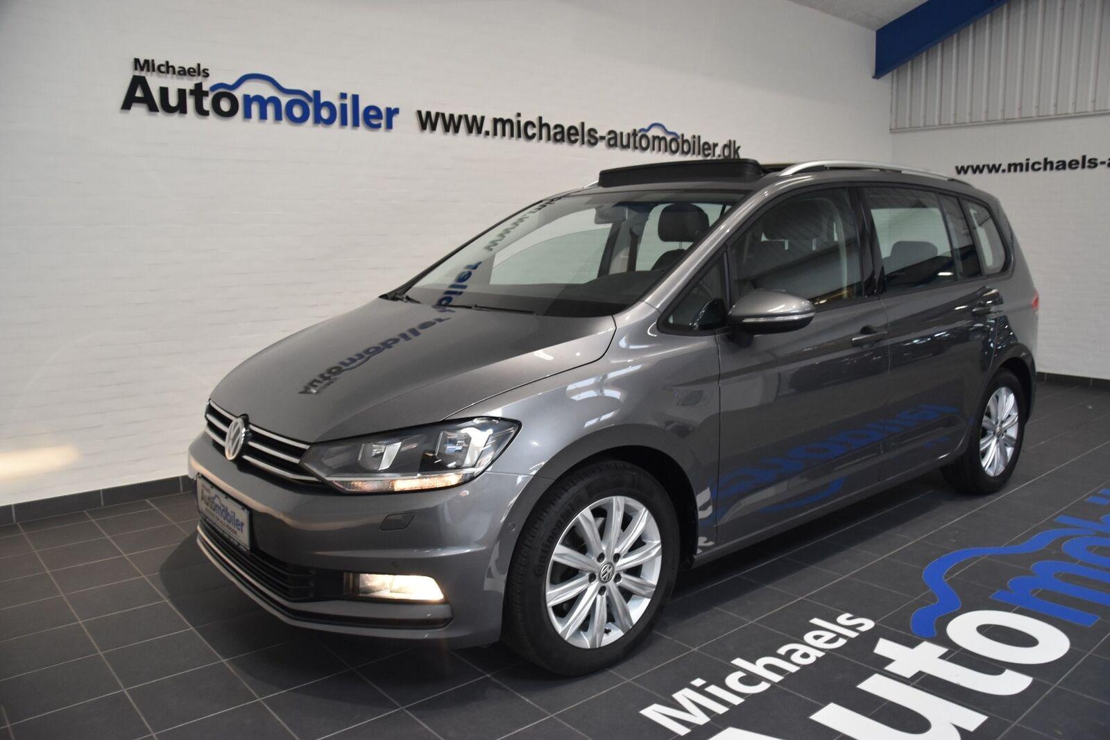 VW Touran 2,0 TDi 150 Comfortline DSG 7prs 5d - 299.900 kr.