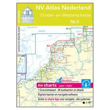 NV Atlas, Satz NL 5 - Niederlande Oosterschelde Westerschelde # 9783932414497
