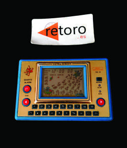 SPACE-ADVENTURE-GAME-amp-WATCH-LCD-Handheld-Extra-Screen-SA-12-quartz-Alarm