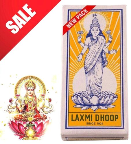 Quick Dispatch from the UK 8 Sticks Pack ⭐UK Stock Laxmi Dhoop Pooja Incense