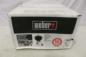 "Weber Original Kettle Premium Charcoal Grill 22"" Black"