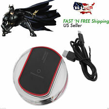 Universal Wireless Charger Universal Qi Cordless Charging Phone Pad Dock AL