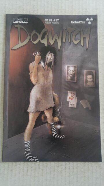Dogwitch #17 2002 Sirius Comics Daniel Schaffer