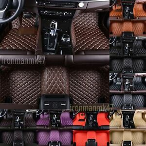 For-Ford-Mustang-Car-Floor-Mats-Luxury-Custom-FloorLiner-Auto-Mats-2011-2019