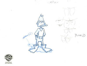 Daffy Duck In Costume Original Production Drawing