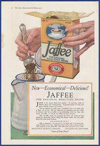 Vintage-1918-JAFFEE-Meal-Time-Drink-Beech-Nut-Kitchen-Coffee-Ephemera-Print-Ad