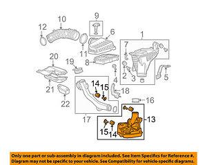 Stupendous 08 12 Honda Accord Air Cleaner Intake Resonator Duct Tube Hose Oem Wiring 101 Vieworaxxcnl