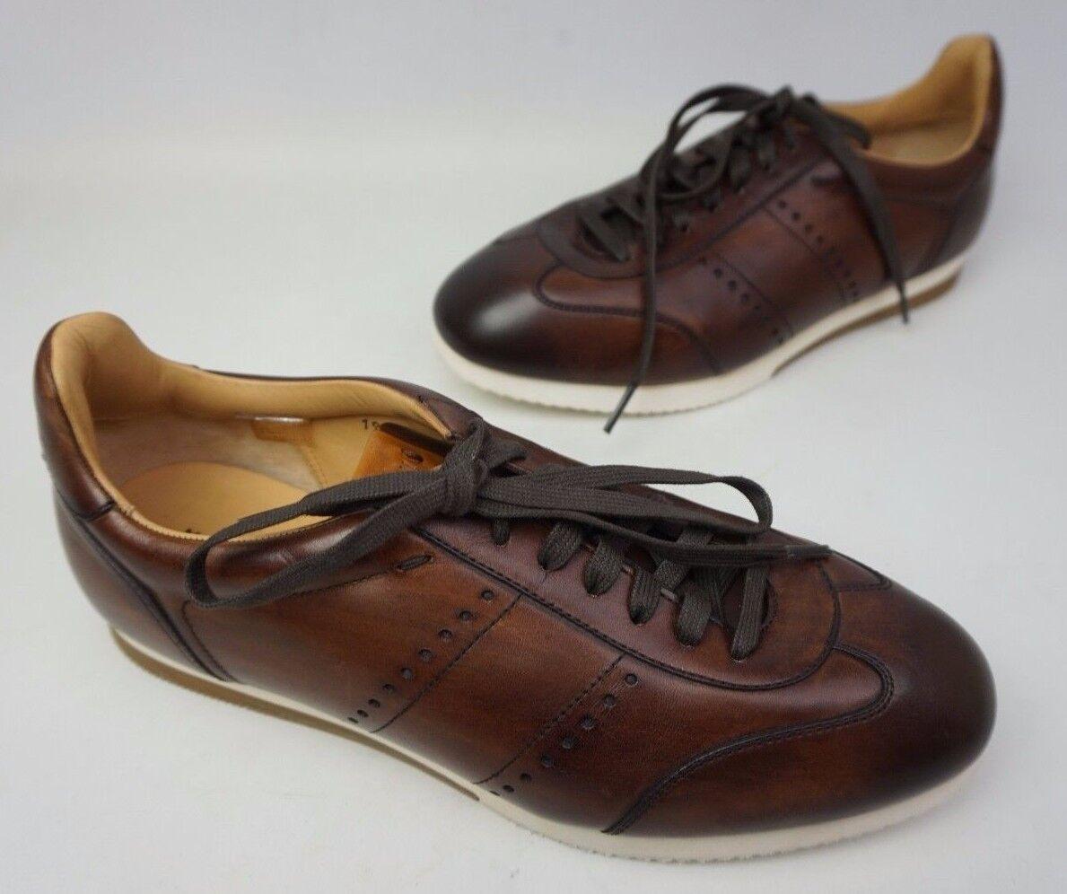 Scarpe casual da uomo  Magnanni da Uomo Isco Moda Sneaker Marrone Medio Scarpe Misura 9.5 M