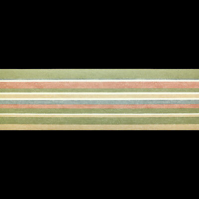 04 13cm wide x 5m long Self Beige Adhesive Wallpaper Border Carmen