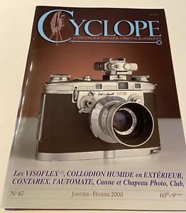 Revue Photo Photographe amateur appareils photographiques Cyclope N°47 2000 TBE