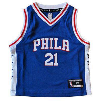 Outerstuff Joel Embiid Philadelphia 76ers #21 Youth City Edition Swingman Jersey