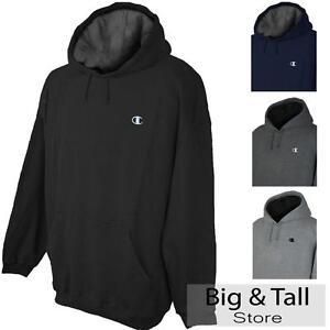 Big & Tall Men's Champion Pullover Hoodie Sweatshirt 3XL - 6XL 2XLT - 4XLT