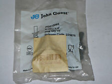 John Guest PI251008S Connector, 5/16 OD Stem x 1/4 ID Barb, Package of 10, New
