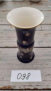 (098) Vase Echt Kobalt Unterweissbach - Deutschland - (098) Vase Echt Kobalt Unterweissbach - Deutschland