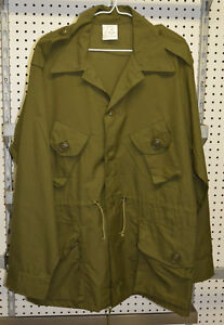 New-combat-shirt-green-canadian-old-style-size-5-medium-bte-78