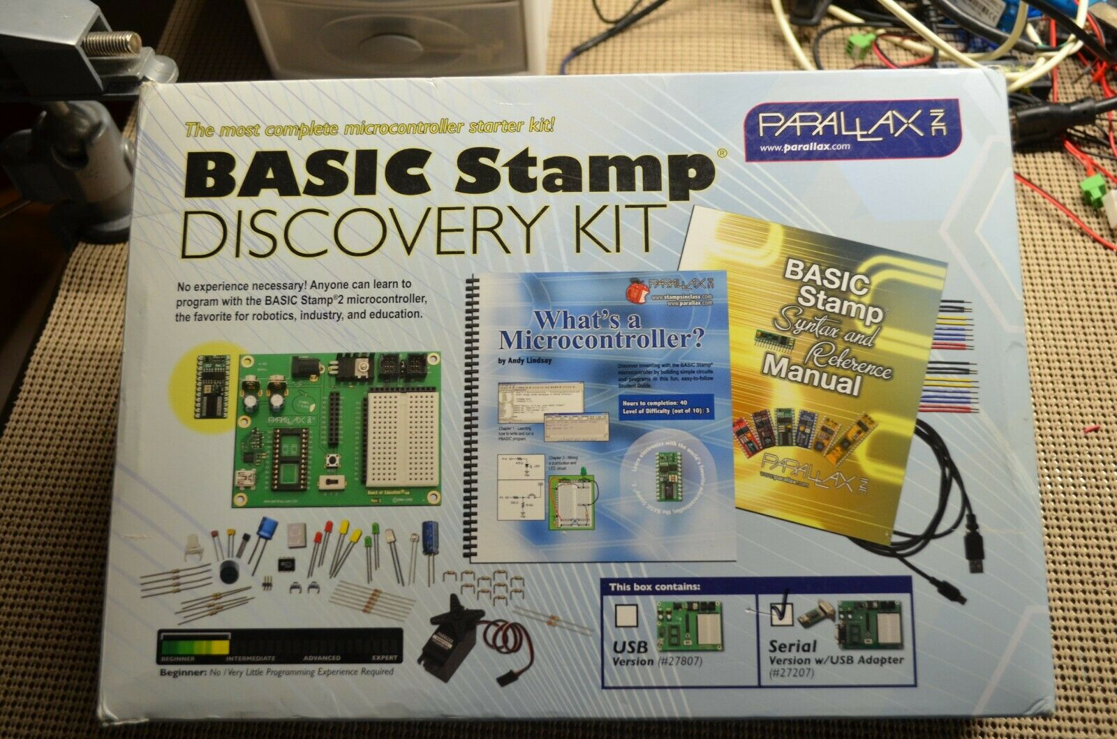 Parallax Basic Stamp  , Discovery Kit