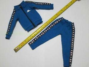 1-6-Scale-Blue-Sportswear-Track-Suit-for-12-034-Action-Figure-Toys