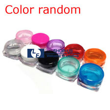 New 30PCS Plastic 3ML Cosmetic Sample Jars Small Empty 3 Gram Makeup Containers
