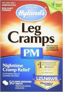 Hyland-039-s-Leg-Cramps-PM-Tablets-50-ea-Pack-of-3