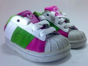 Image is loading Adidas-Superstar-Shell-Toe-Toddler-Baby-Infant-Girls- 35effcda1471