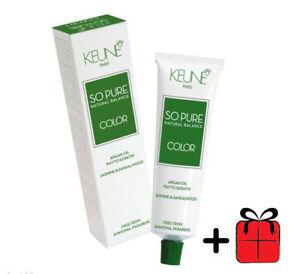 Keune-So-Pure-Hair-Color-Permanent-Argan-Oil-60ml-100-Ammonia-amp-Paraben-Free
