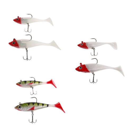 Soft Lead Fishing Lures Lifelike Hook Baits Swim Baits Bionic Bait Crankbait