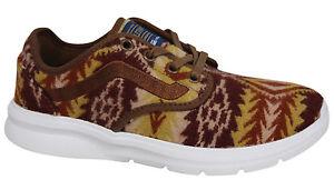 VANS Pendleton ISO 2 con lacci colore marrone in lana Scarpe sportive uomo