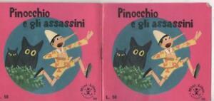 1965-Pinocchio-e-gli-assassini-di-Walt-Disney-ed-Mondadori-Mini-Libro-n-34r