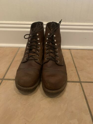 mens red wing boots size 11