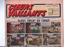 COEURS VAILLANTS 1942 n°35. Hergé. Tintin Le crabe aux Pinces d'Or.