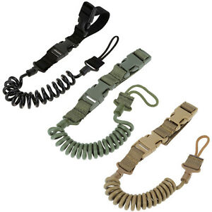 Max1-5m-59-039-039-Adjustable-Military-Tactical-Elastic-Release-Sling-Spring-Lanyard
