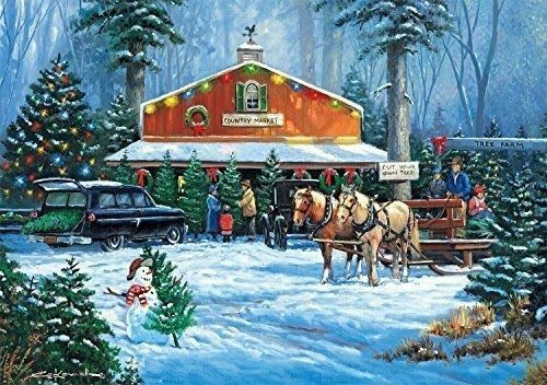 Buffalo Games 500pc Jigsaw Puzzle Holiday Traditions By