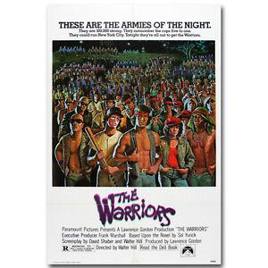The-Warriors-Classic-Movie-Art-Silk-Poster-Print-12x18-24x36-inch