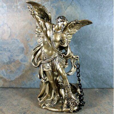 Angel Archangel Michael Faith Protection Integrity Heaven Statue Gift 200mm