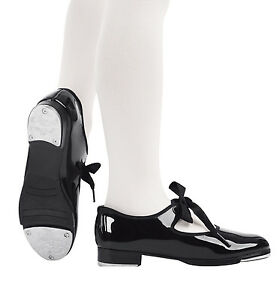Capezio Black Patent Tap Shoes